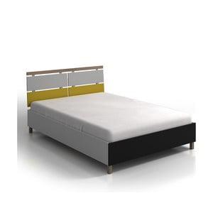 Vaxholm Fenyő és bükkfa egyszemélyes ágy, 120 x 200 cm - Skandica