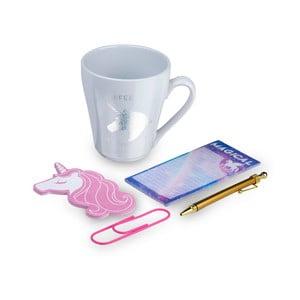 Unicorn bögre, öntapadó jegyzet és jegyzettömb ajándékcsomag - Tri-Coastal Design