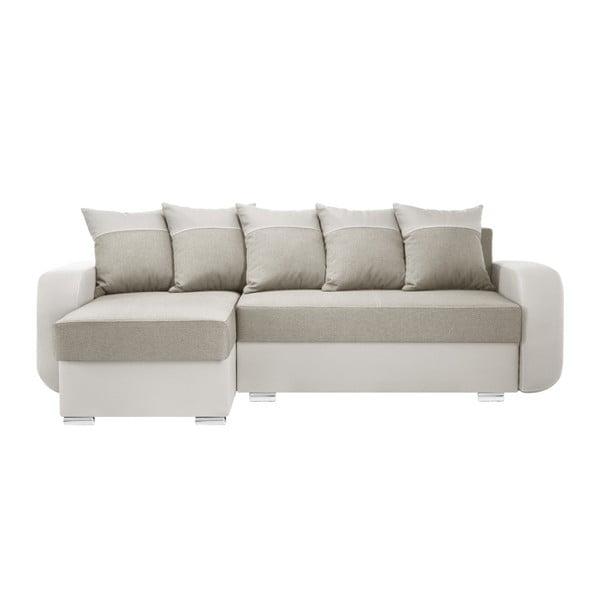 Destin krémszínű kanapé, bal oldalas - Interieur De Famille Paris