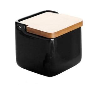 Black Salt Box kerámia sótartó - Versa