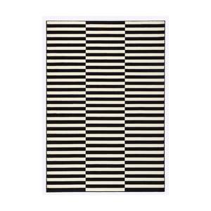 Gloria Panel fekete-fehér szőnyeg, 160 x 230 cm - Hanse Home