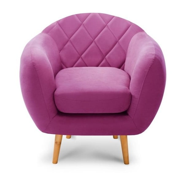 Diva lila fotel - Scandi by Stella Cadente Maison