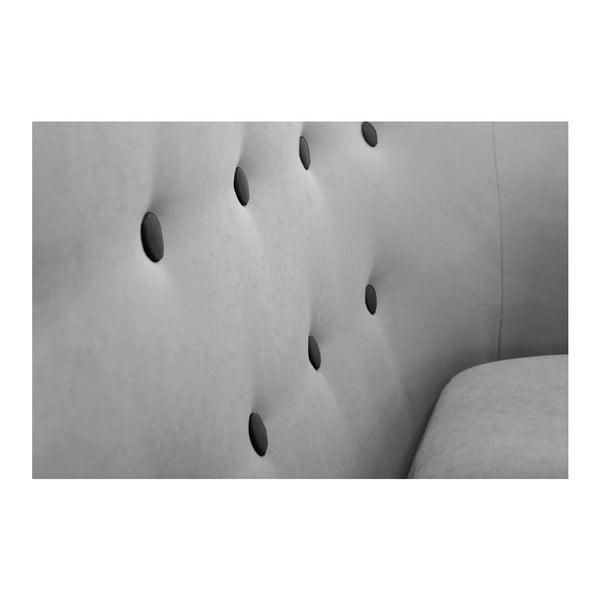 Constellation háromszemélyes szürke kanapé, jobb oldali kivitel - Scandi by Stella Cadente Maison