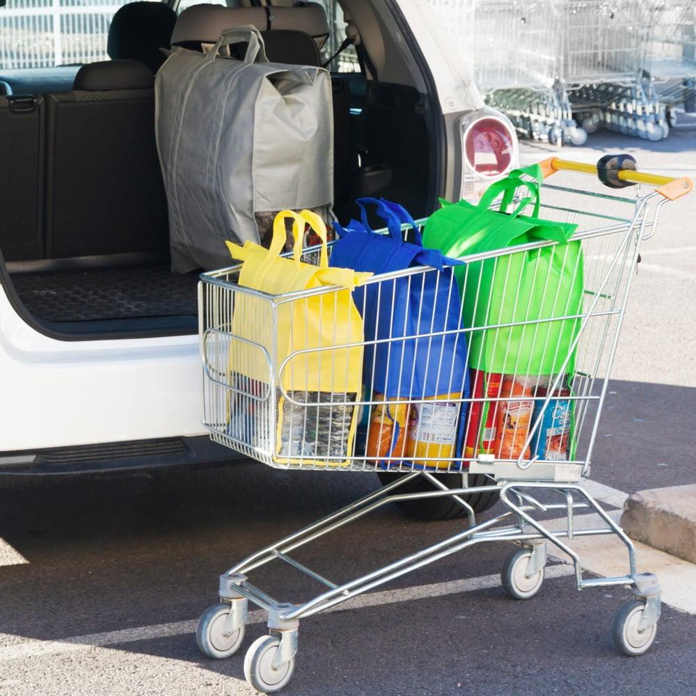 eaf8514894c4 ... Cart Car 4 db-os különböző méretű táska szett bevásárlókocsiba -  InnovaGoods ...