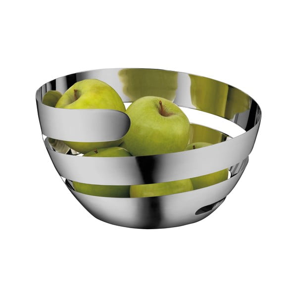 Lounge Living rozsdamentes gyümölcsös kosár, ⌀ 26 cm - WMF