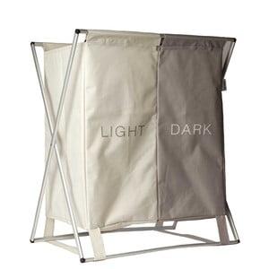 Light & Dark bézs szennyestartó - Sabichi