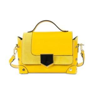 Žlutá kožená kabelka Infinitif Chelsea