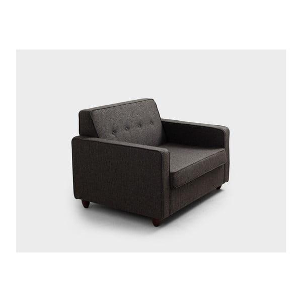Zugo sötét szürkésbarna fotel - Custom Form