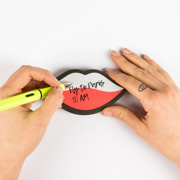 Wink öntapadós jegyzettömb - Just Mustard