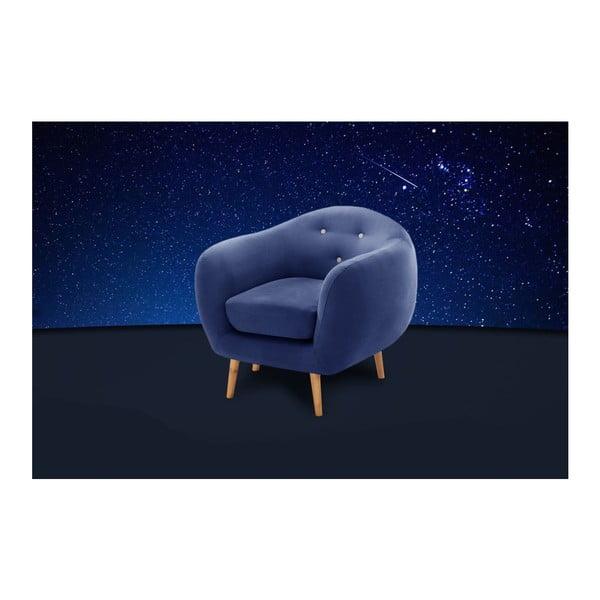 Constellation tengerészkék fotel - Scandi by Stella Cadente Maison
