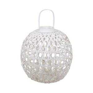 Remiremont fehér rattan lámpás - Santiago Pons