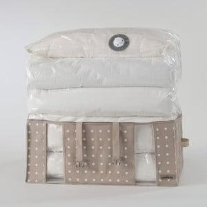 Rivoli bézs tárolódoboz vákuumos csomagolással, szélessége 65 cm - Compactor