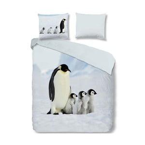 Penguins egyszemélyes pamut ágyneműhuzat garnitúra, 140 x 200 cm - Good Morning
