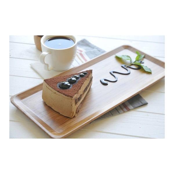 Espresso nagyméretű bambusztálca - Bambum