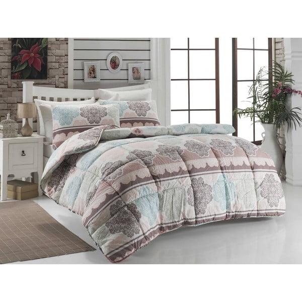 Karlin kétszemélyes steppelt ágytakaró, 195 x 215 cm