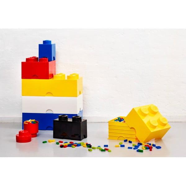 Fekete dupla tárolódoboz - LEGO®