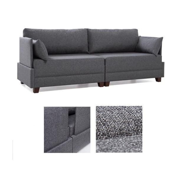 Home Lucy szürke kanapé - Balcab