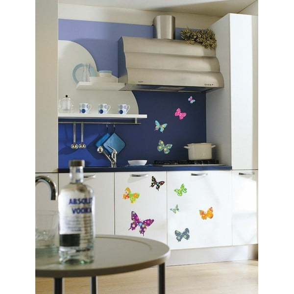 Butterflies 25 darabos falmatrica készlet - Ambiance