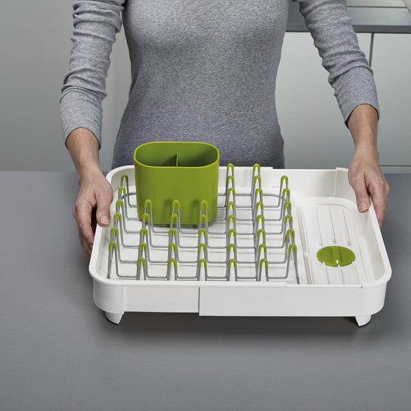 Extend zöld-fehér állítható edénycsepegtető tálca - Joseph Joseph