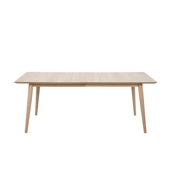 Century étkezőasztal tölgyfa lábszerkezettel, 200x100cm - Actona
