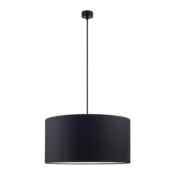 MIKA fekete függőlámpa, ∅ 50 cm - Sotto Luce