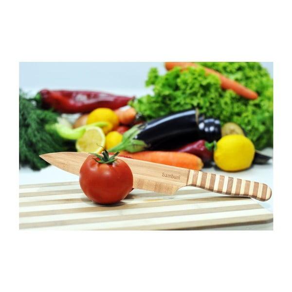 Salad bambusz kés zöldséghez - Bambum