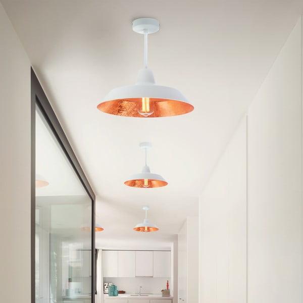 Cinco Basic fehér és rézszínű mennyezeti lámpa - Bulb Attack