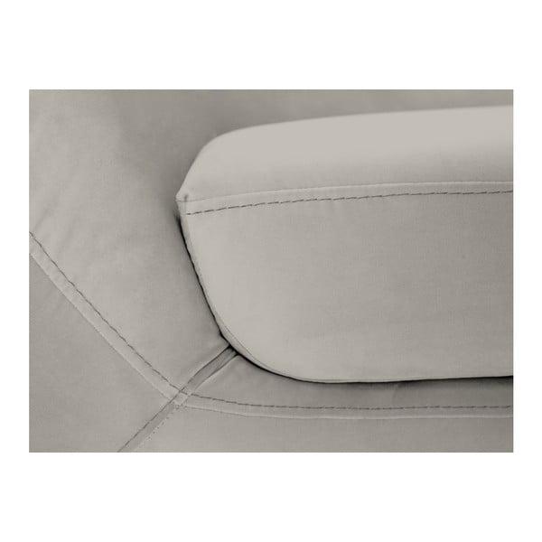 Amelie krémszín kétszemélyes kanapé - Mazzini Sofas