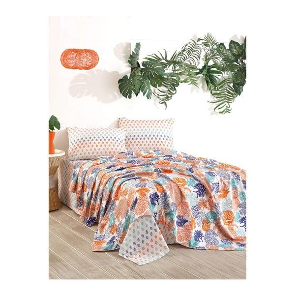 Dreamin pamut ágytakaró, 160 x 200 cm - Unknown