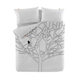 Home pamut paplanhuzat, 140 x 200 cm - Blanc