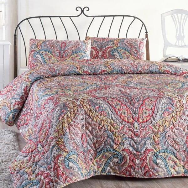 Gemeos rózsaszín kétszemélyes ágytakaró párnahuzattal, 200 x 220 cm