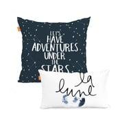 Constellation 2 db-os pamut párnahuzat szett - Blanc