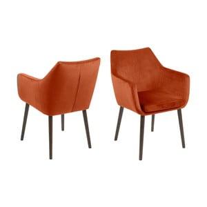 Nora narancssárga fotel - Actona