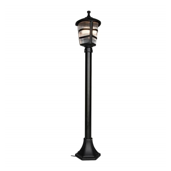 Lisa fekete kültéri világítás, magassága 92 cm