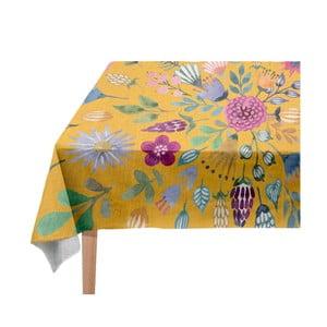 Colourful Flowers asztalterítő, 140 x 140 cm - Madre Selva