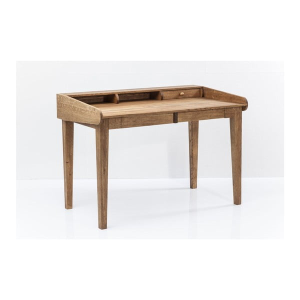Attento tömör tölgyfa íróasztal - Kare Design