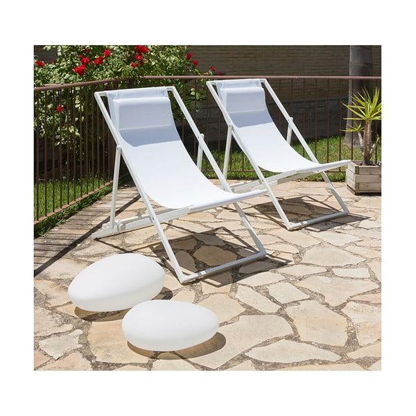 Kava fehér összecsukható szék - Santiago Pons