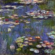 Claude Monet festmény másolat - Water Lilies 3, 70 x 70 cm