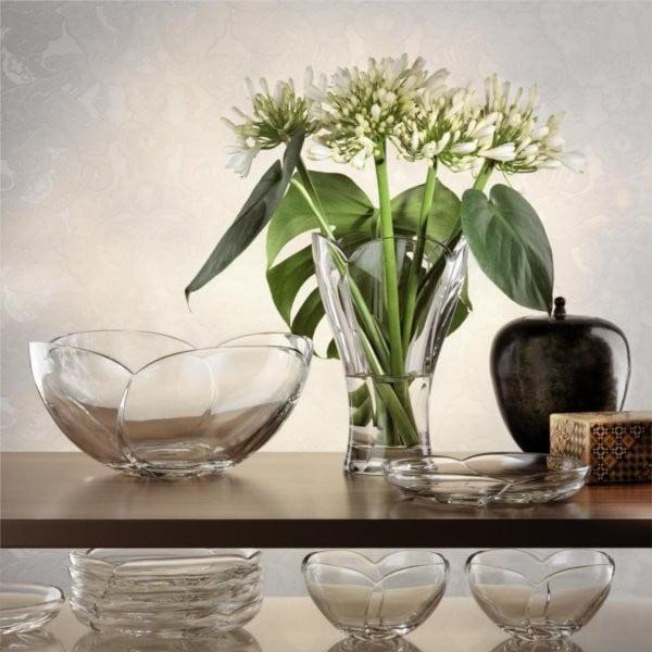 Calypso kristályüveg váza, ⌀ 24 cm - Nachtmann