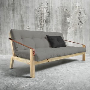 Poetry Natural/Granite Grey/Dark Grey kihúzható kanapé - Karup