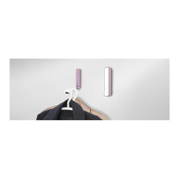 Basic BETA rózsaszín összecsukható fali akasztó - Wenko