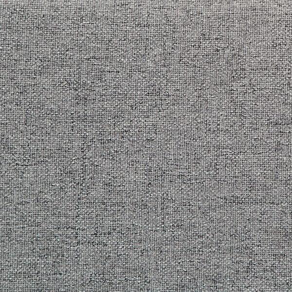 Mae King Size szürke kétszemélyes ágy fekete lábakkal, 180 x 200 cm - Vivonita