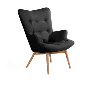 Aiko fekete fotel - Max Winzer