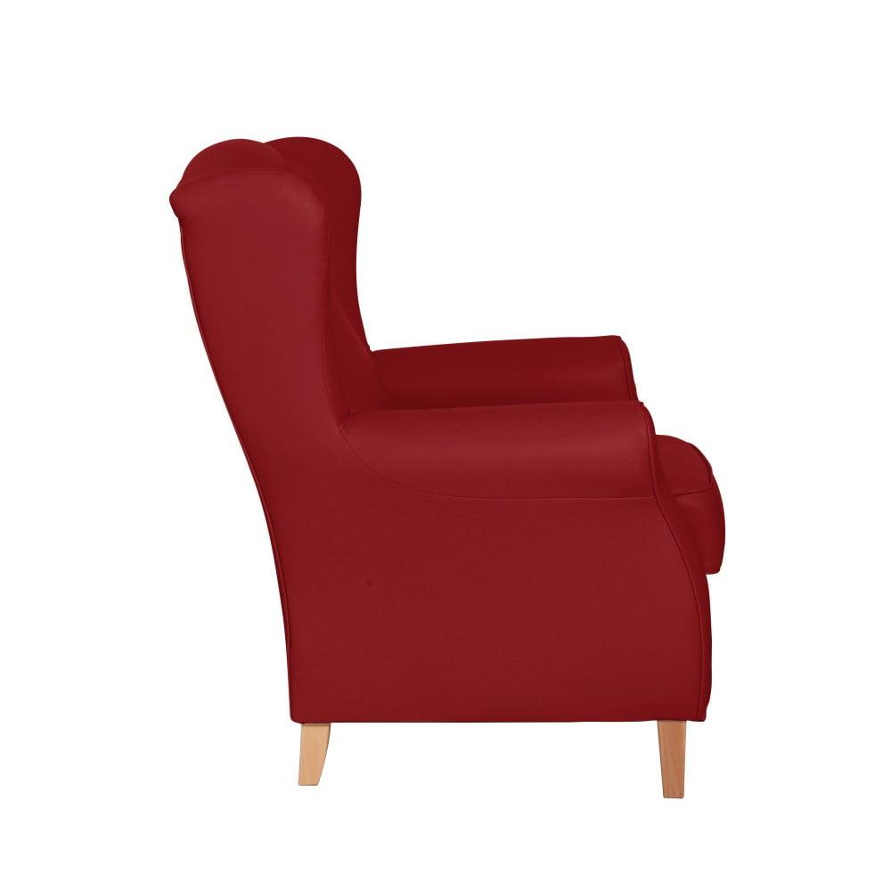Lorris Leather Chili piros füles fotel Max Winzer | Bonami