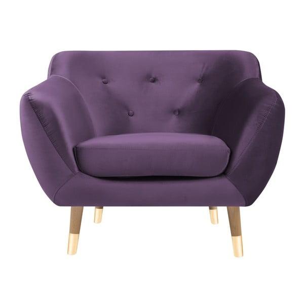 Amelie lila fotel - Mazzini Sofas