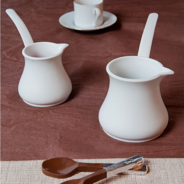 Nina 2 db-os porcelán kávéskanna szett