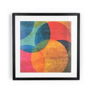 Neon Circle kép, 50 x 50 cm - Graham & Brown