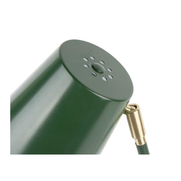 Noble zöld asztali lámpa aranyszínű részletekkel - Leitmotiv
