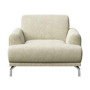 Puzo világos bézs fotel - MESONICA