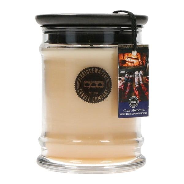 Cozy Moments illatos gyertya üveg tartóban, égési idő 65-85 óra - Creative Tops